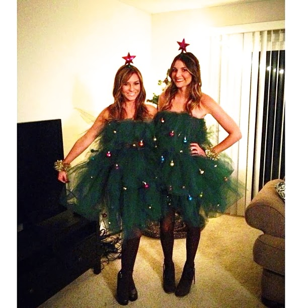 DIY Christmas Tree Tulle Dress