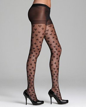 Kate Spade New York Heart To Heart Sheer Tights $32