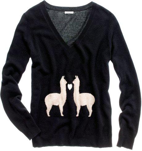 Madewell Llama Love Sweater