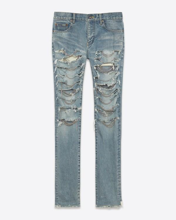 YSL Chain Jean DIY