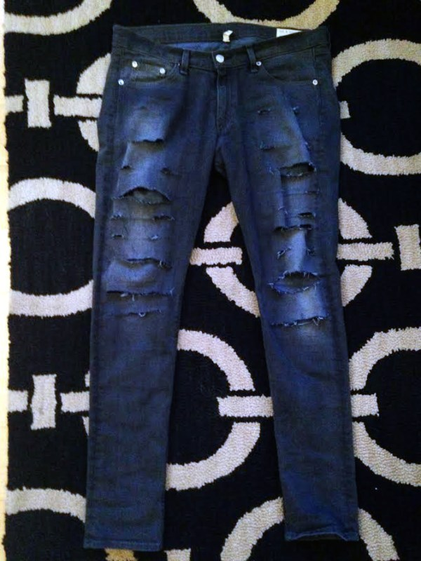 Distressed Denim DIY