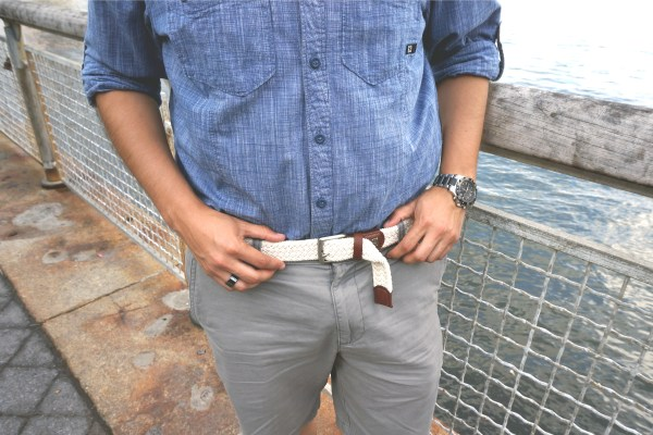 Dockers Braided Belt