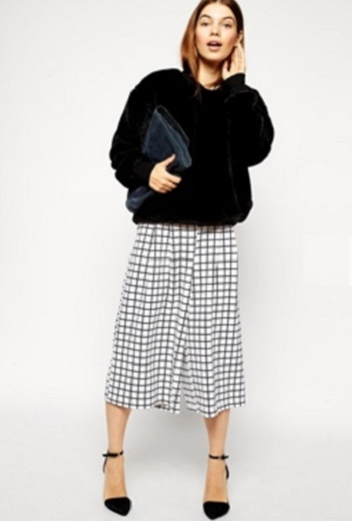 asos-wide-leg-culotte-in-grid-print-white-black