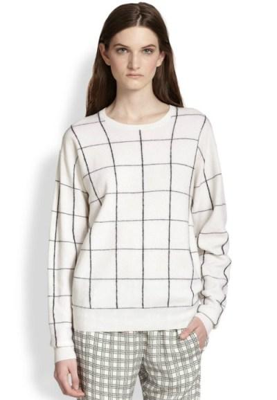 theory-dreamerly-windowpane-sweater