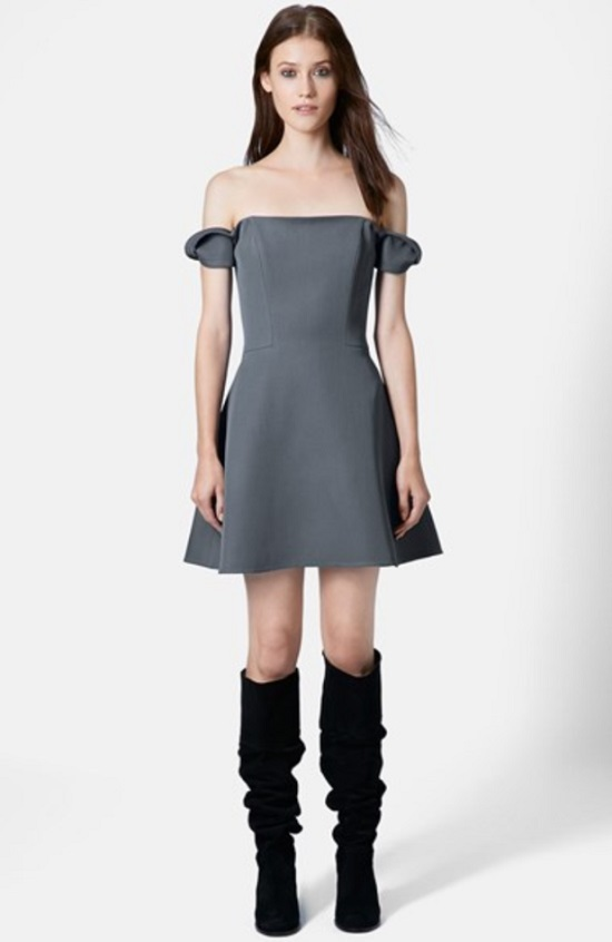topshop-unique-off-the-shoulder-wool-dress
