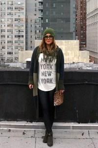 Haute Hippie New York New York Tee