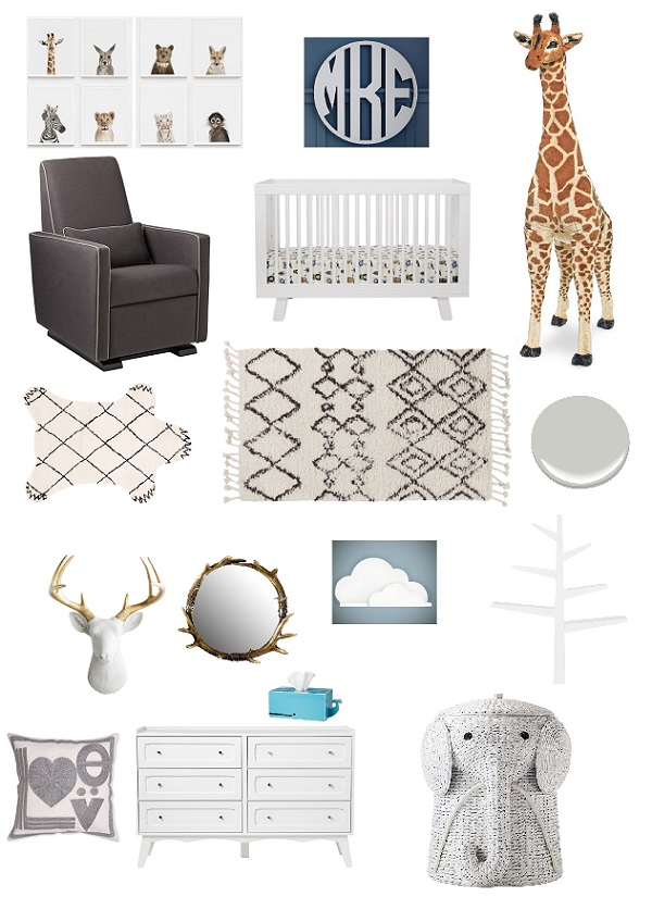 sophisticated-safari-themed-nursery