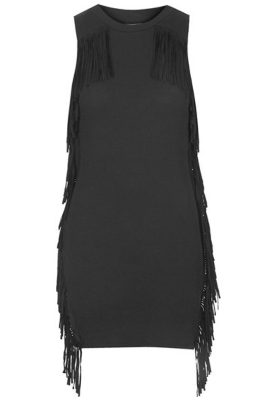topshop-fringe-bodycon-dress-black