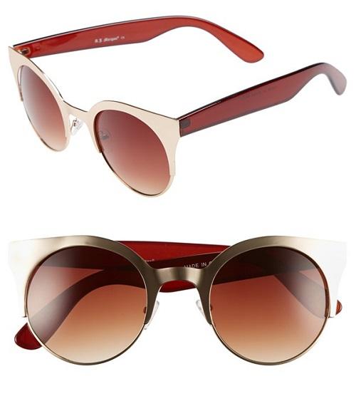 AJ MorganV 50 MM Sunglasses