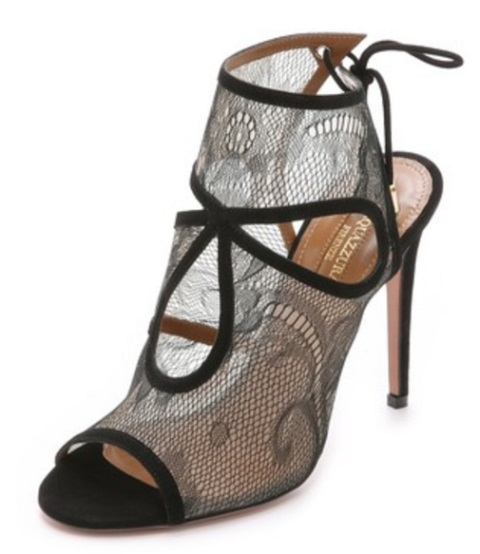 Aquazzura Sexy Thing Lace Sandals
