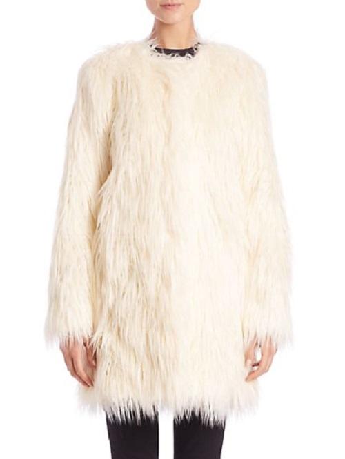 Donna Salyers Fabulous-Furs Faux Fur Stroller Jacket