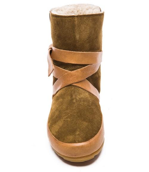 Isabel Marant Etoile Nygel Winter Calfskin Velvet Dancing Boots