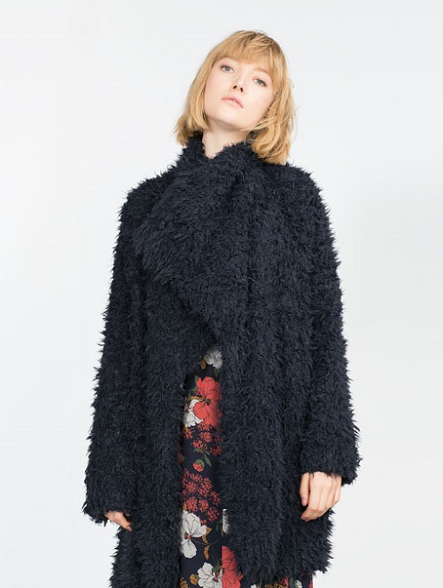 Zarta Long Faux Fur Coat