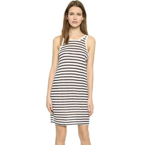 T by Alexander Wang Striped Tank Dress