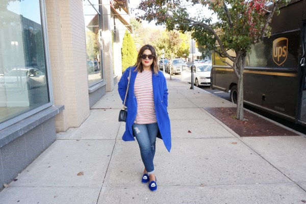 JOA Cobalt long Coat