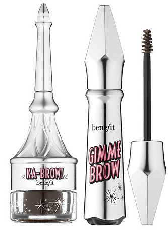 Benefit Cosmetics ka-BROW! Cream-Gel Eyebrow Color Vs Gimme Brow Volumizing Fiber Gel