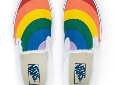 Vans Rainbow Slip-On Sneaker
