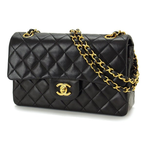 Vintage Chanel 2.55 Lambskin Double Flap Bag