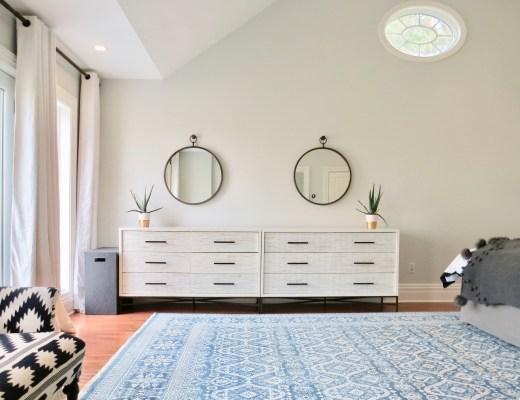 West Elm Wood Tile Dresser