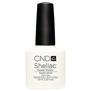 CND Shellac Studio White Gel Polish