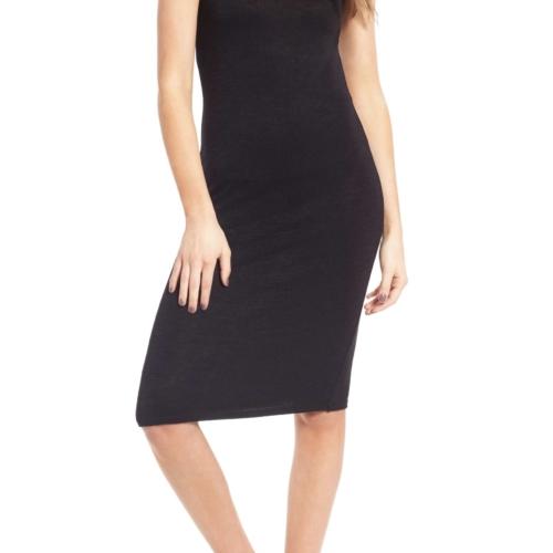 Leith Melange Body Con Dress