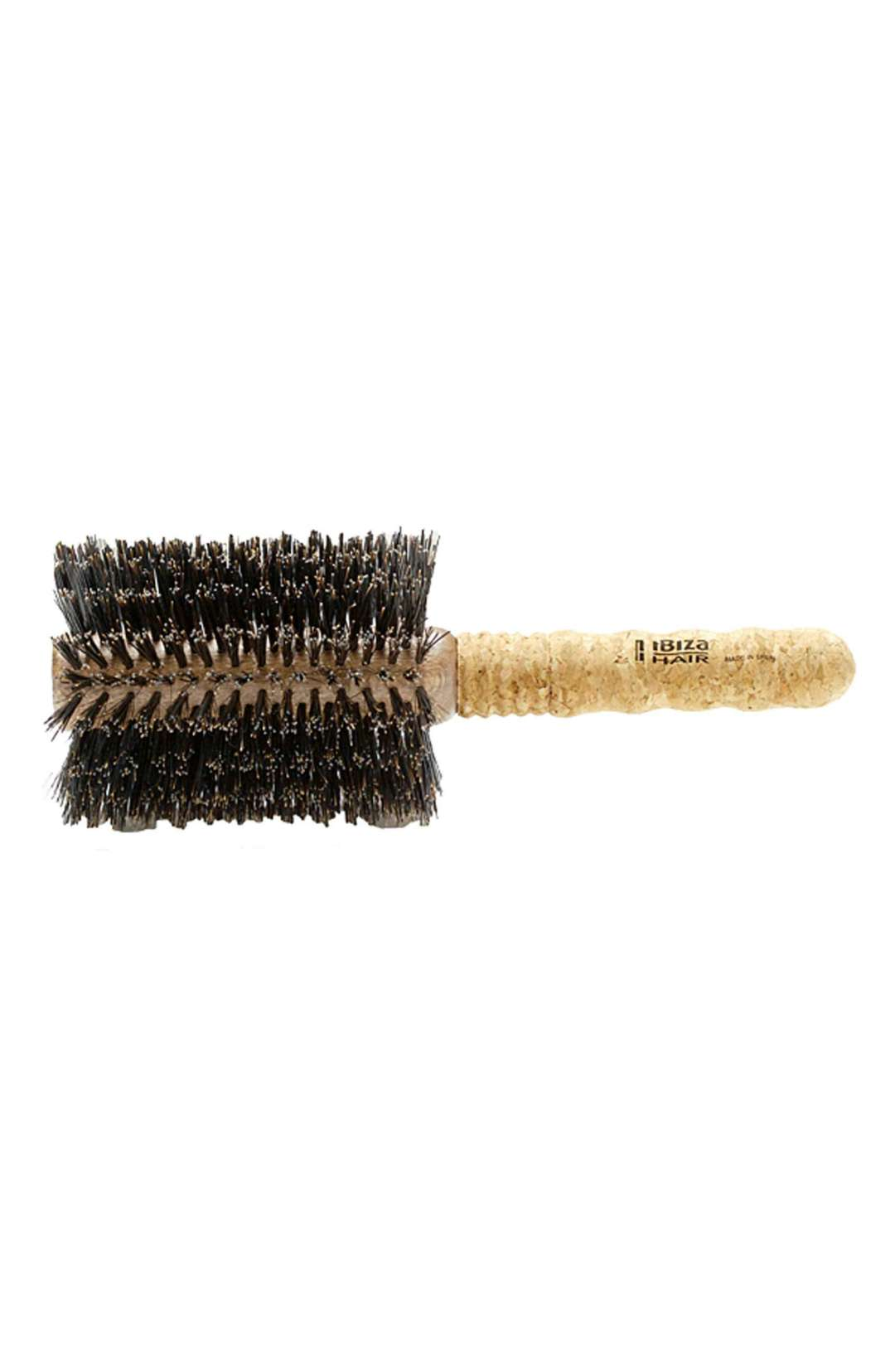 Ibiza Collection Extended Cork Round Brush Extra Large