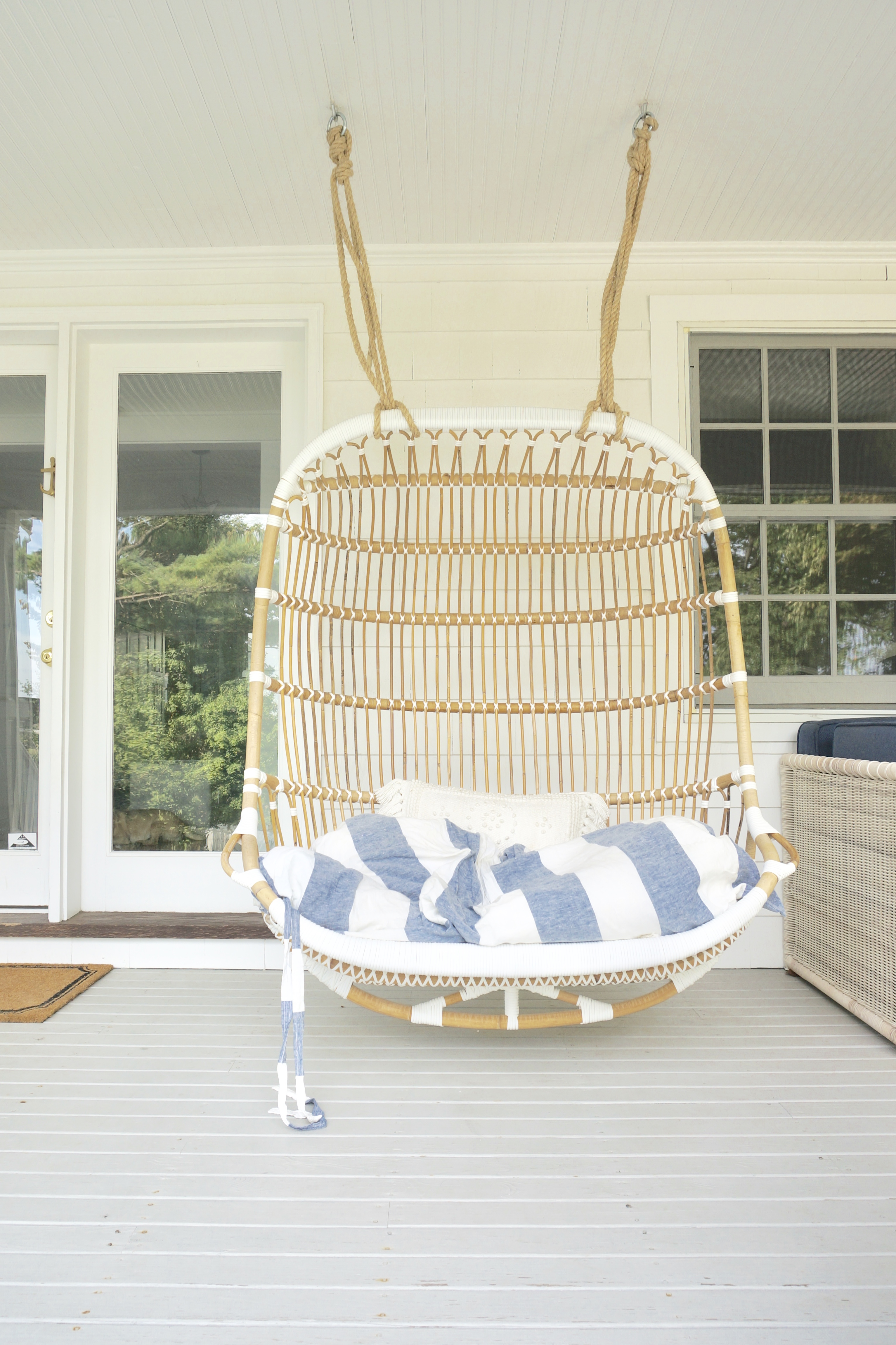 hanging chair serena and lily big tall office 500 lbs capacity 10 favorite pieces i own from friends family double rattan