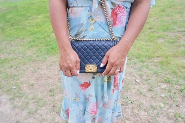 Yumi Kim Tea Time Wrap Dress