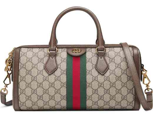 Gucci Ophidia GG Medium Top Handle Duffel Bag