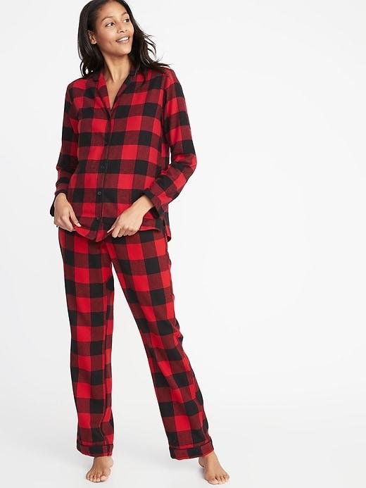 Old Navy Red Buffalo Plaid Pajamas