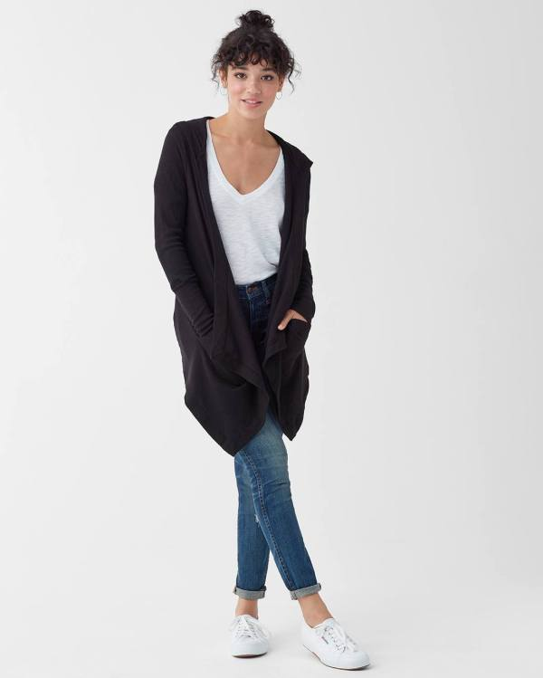 Splendid Hooded Flight Cardigan