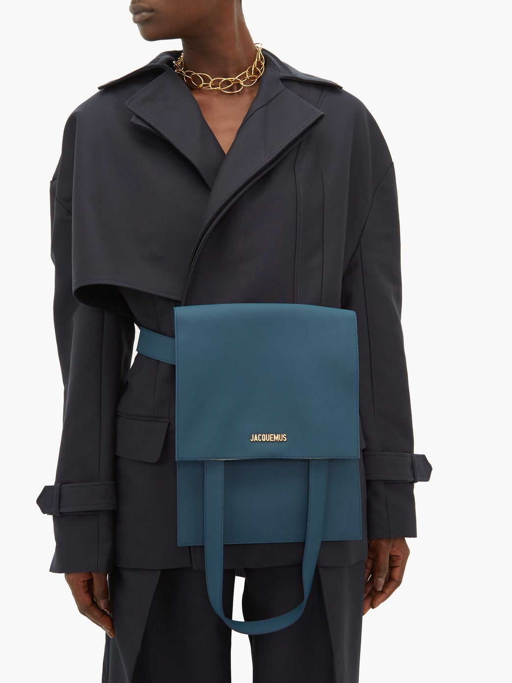 Jaquemus Murano Leather Bag