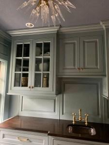 Moody Blue Grey Bar Pantry