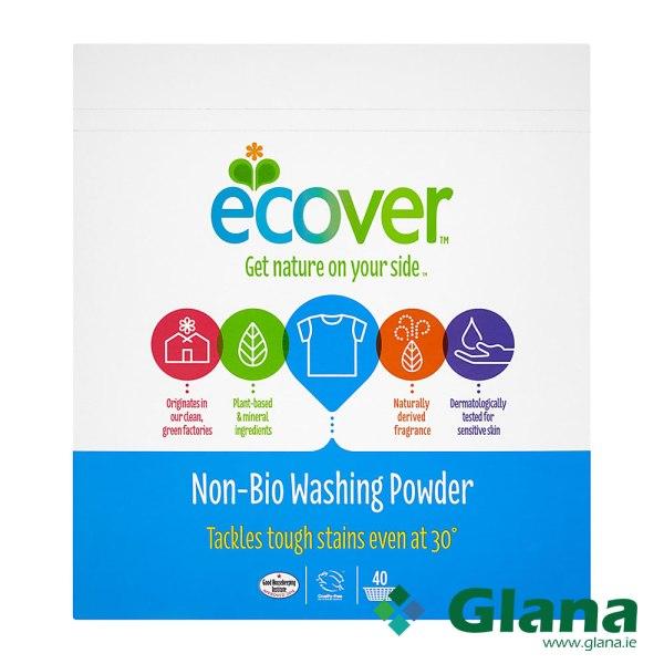 ECOVER Non Bio Washing Powder 40 Wash 3Kg