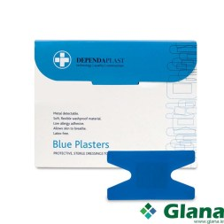 Dependaplast Blue Food Area Plasters anchor