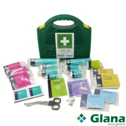 1-10 Person First Aid Kit HSA No Burns & Eye