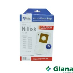 Microfibre Vacuum Bags - Nilfisk King/GM200