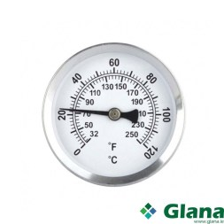 Magnetic Radiator or Pipe Thermometer.