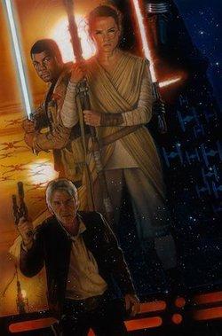 star war force awakens 2015 Drew Struzan