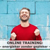 piekeren stoppen; Online training energieker zonder gepieker