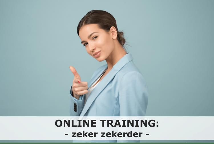 Online training zelfverzekerder