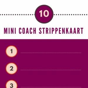 Praktijk Glansreijk - Mini coach strippenkaart