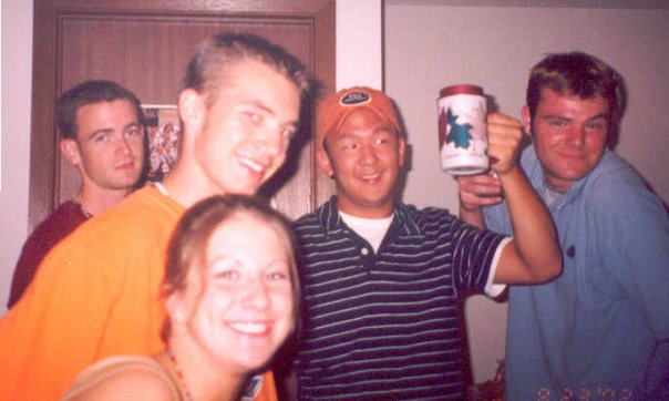 2002 - 20th birthday - Party with VF Friends at Luke's apartment in Shakopee.