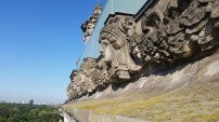 View from roof of Reichstag