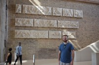 Me at the Pergamon Museum.