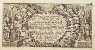 """Melchior Mattsbergers """"Biblische Figur-Sprüche"""" - Rebus-Rätsel - Glarean Magazin"""