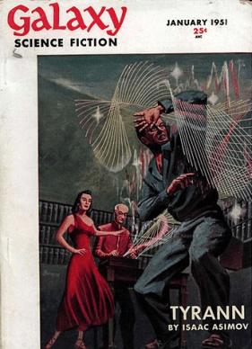 Isaac Asimov - Galaxy - Science-Fiction-Reihe - Glarean Magazin