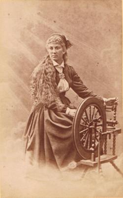 Peer Gynt - Ibsen - Thora Neelsen als Solveigh bei der Uraufführung