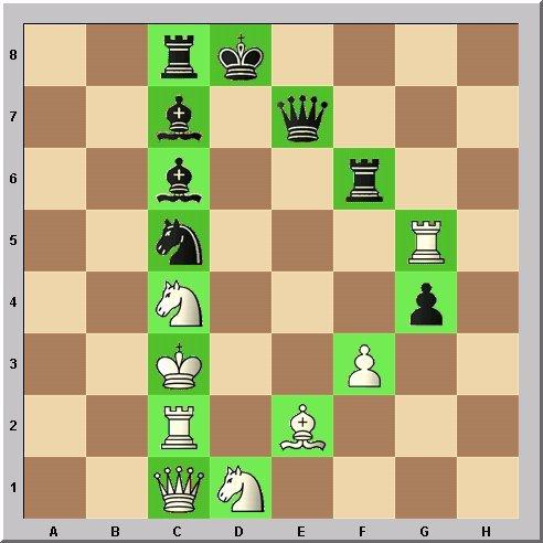 Studie Schach-Alphabet Buchstabe D Problemschach Walter Eigenmann im Glarean Magazin
