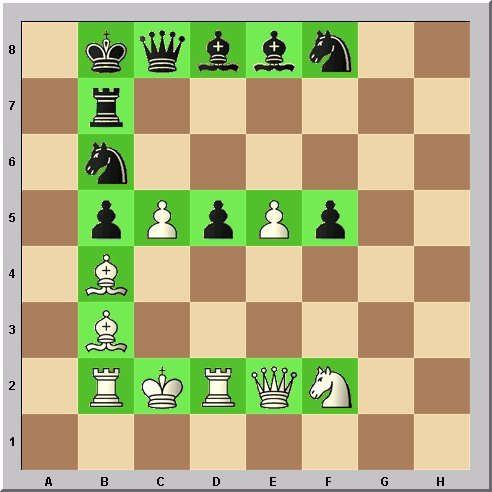 Studie Schach-Alphabet Buchstabe E Problemschach Walter Eigenmann im Glarean Magazin